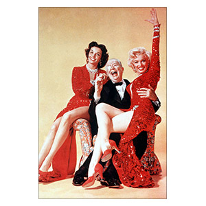 Gentlemen Prefer Blondes. Размер: 20 х 30 см